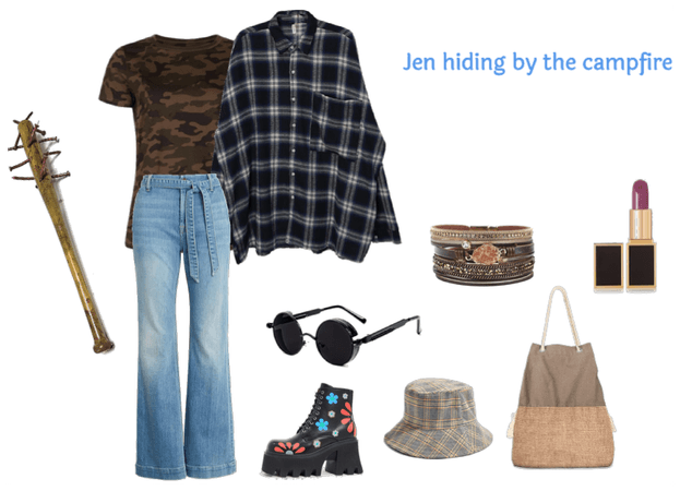 Jen camping with a serial killer stalking her