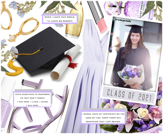 Graduate in Style: Lilac Mood💜 ( 5.21.2021 )
