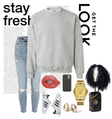 Grey Sweatshirt - Casual