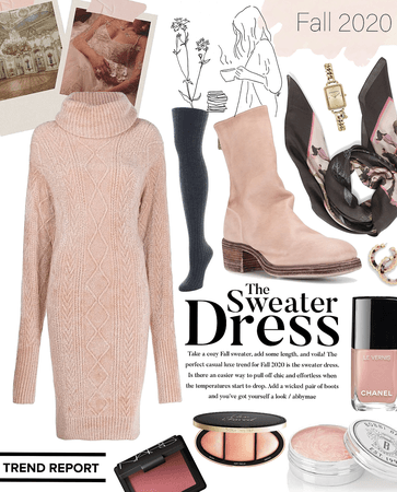 sweater dress | fall trends