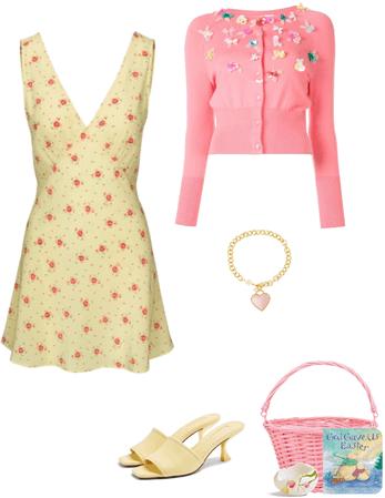 Sunny & Peachy Easter