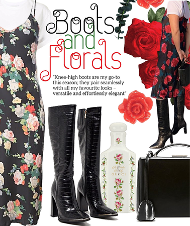 boots and florals