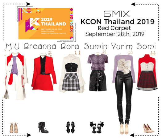 《6mix》KCON Thailand 2019 | Red Carpet