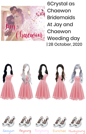 6Crystal as Chaewon bridesmaid | October 28, 2020