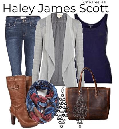 Haley James Scott one tree hill