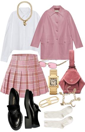 pink academia💗