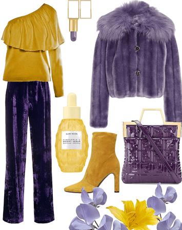 Lilas amarillas