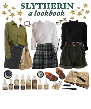 slytherin inspired outfits