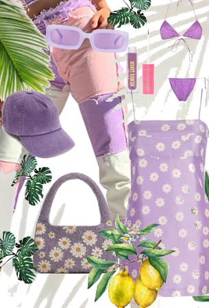 Purple spring break