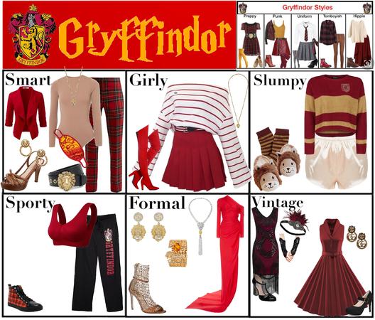 Gryffindor Styles #2