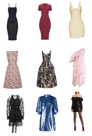Vestido de cada estilo