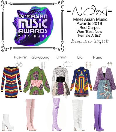 -NOVA- Mnet Asian Music Awards 2019- Red Carpet