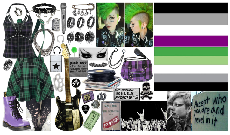 aroace emo punk