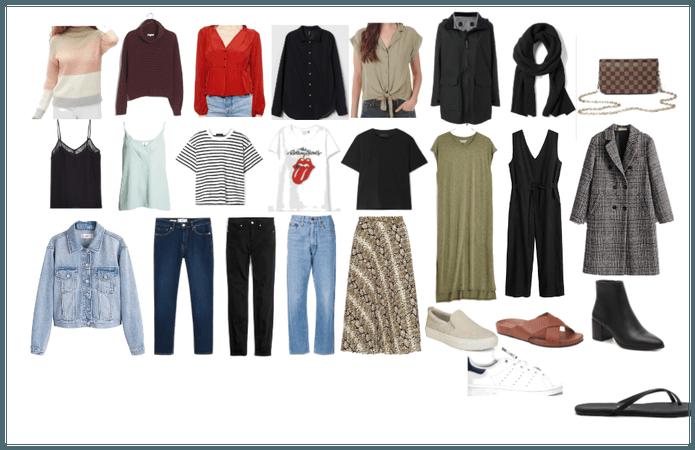 Fall in Europe Capsule Wardrobe