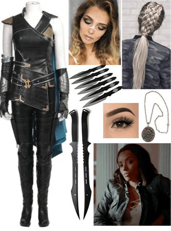 Aurora 'Rory' Stone Inspired Valkyrie Costume Outfit