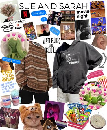 movie night with bbggg sueee