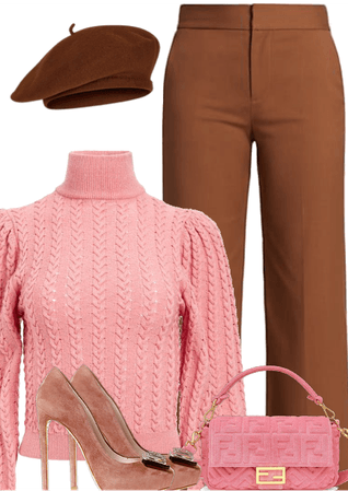 PINK SWEATER- ALICE AND OLIVIA