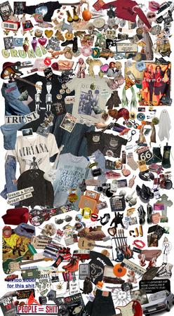 90's grunge