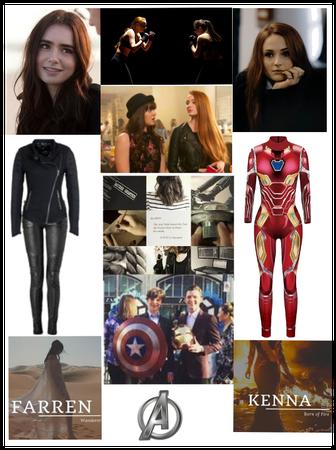 Avengers Oc Farren and Kenna Stark