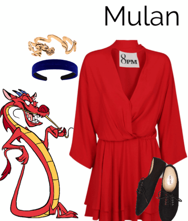 Disney Character: Mushu