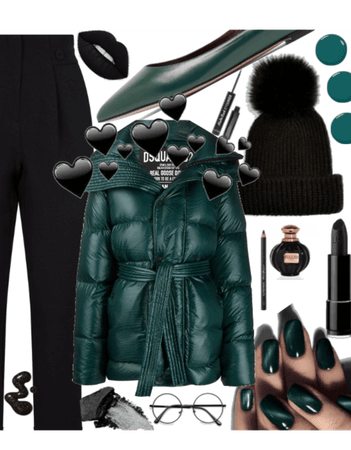 Green💚And Black🖤  💛CHALLENGE💛