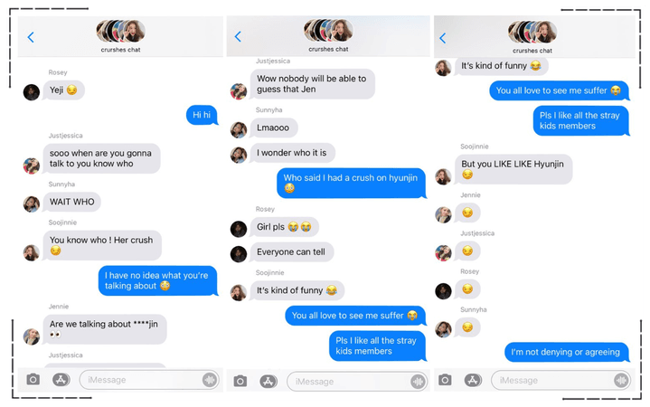 Crushes (호감) Group Message