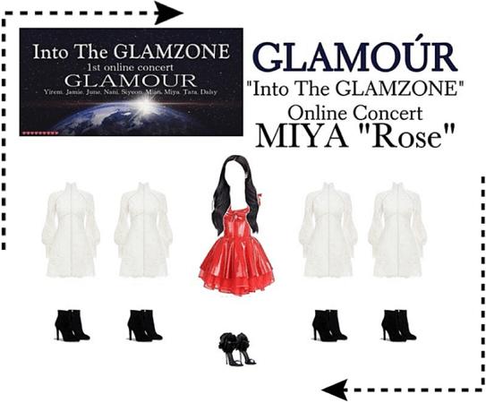 "Into The GLAMZONE: 1st Online Concert | Miya ""Rose"" performance"