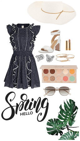 European summer afternoon outfit