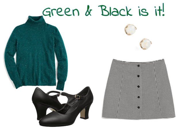 Green & Black is it!