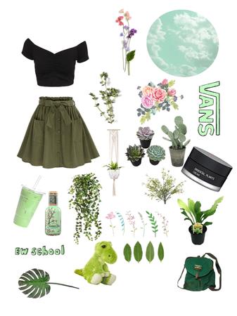 Elizabeth Style Green