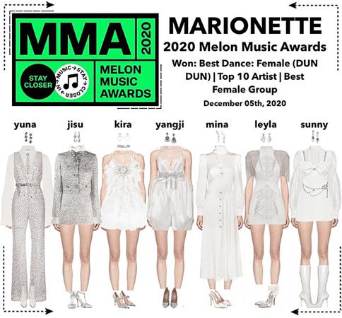 MARIONETTE (마리오네트) 2020 Melon Music Awards