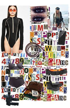 Vivian's Underwater Suit