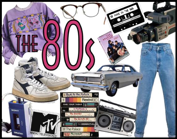 The 80's/Decades Challenge