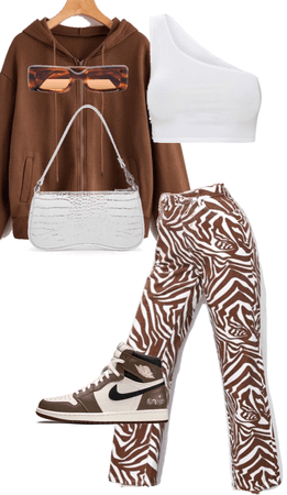 aesthetic brown fit
