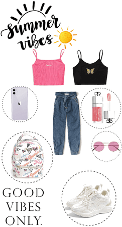 summer casual outfit OOTD