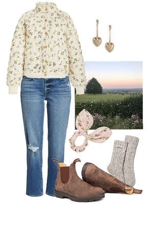 cozy cottage OOTD