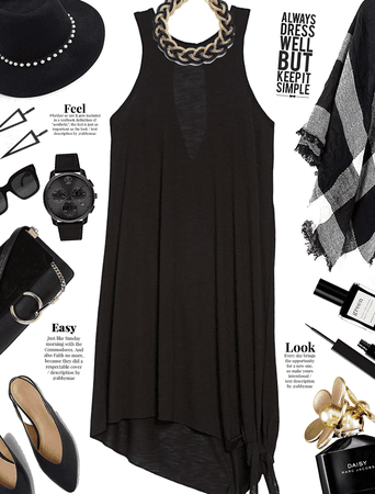 Get The Look: 9 to 5 Black Dress
