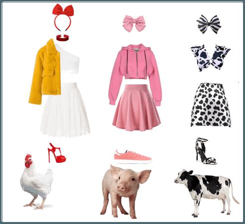 Farmyard couture