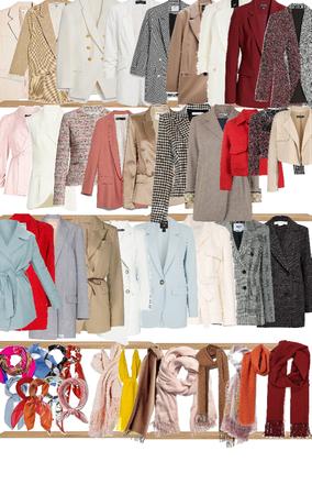 wardore coats and scarfs