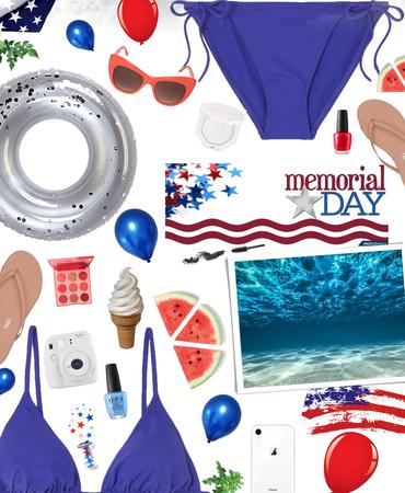 Memorial Day - pool