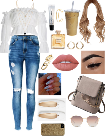 Crystal Lockwood inspired school outfit