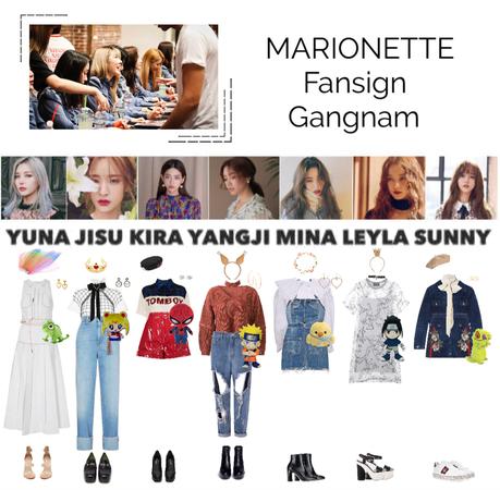 MARIONETTE (마리오네트) Gangnam Fansign