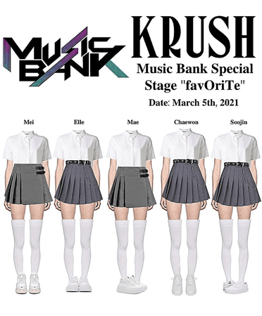 """KRUSH Music Bank Special Stage """"favOriTe"""""""
