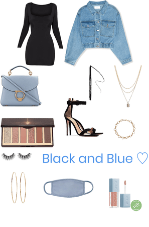Black and Blue 🖤💙