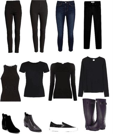 fall capsule wardrobe basics