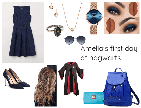 Amelia's first day at hogwarts