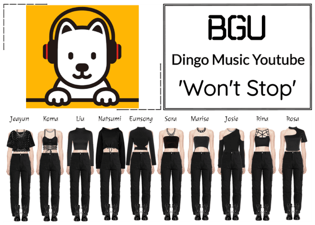 BGU Dingo Music Youtube 'Won't Stop'