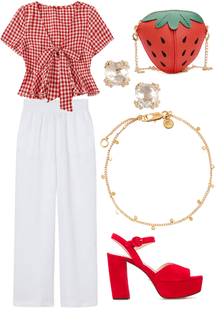 red strawberry fit
