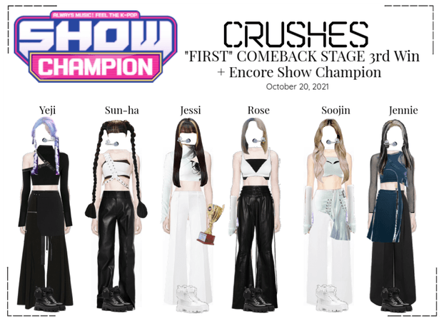 """Crushes (호감) - """"FIRST"""" Comeback Stage 3rd Win"""