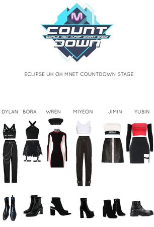 ECLIPSE UH OH MNET COUNTDOWN STAGE